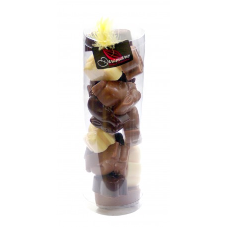 Chocolate Eggs Tube