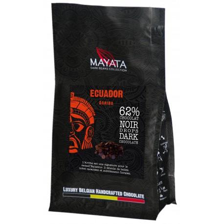 Drops de Chocolat Noir - Equateur 62%