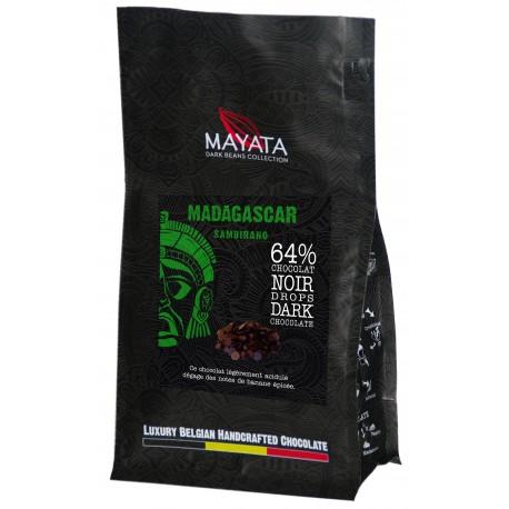 Drops de Chocolat Noir - Madagascar Sambirano 64%