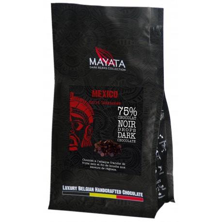 Drops de Chocolat Noir - Mexique Selva Tabasceno 75%
