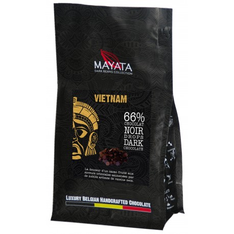 Drops de Chocolat Noir -  Vietnam 66%